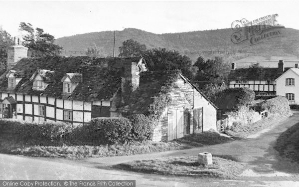 Photo of Winforton, A Corner Of The Village c.1955