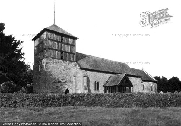 Photo of Winforton, Church Of St Michael And All Angels c.1955