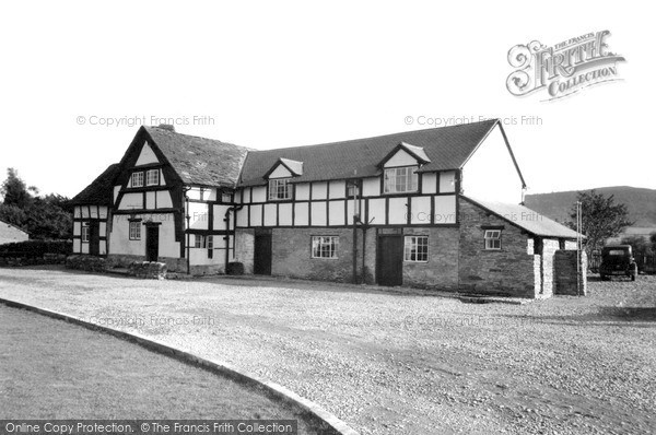 Photo of Winforton, Old Cross Restaurant (1200 Ad) c.1955
