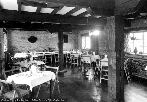 Photo of Winforton, Old Cross Restaurant, The Dining Room c.1955
