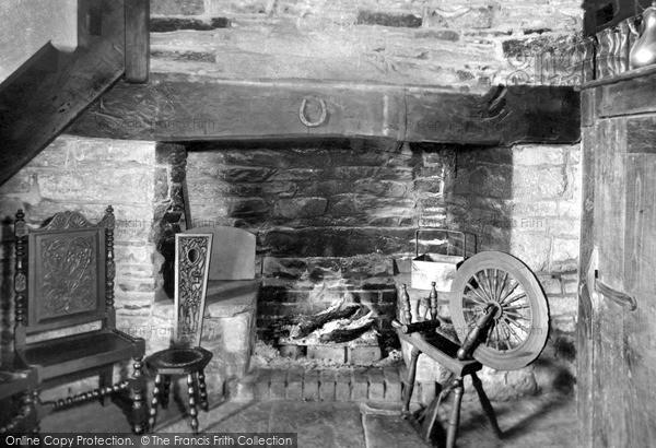 Winforton, Old Cross Resaurant, the Original Fireplace c1955