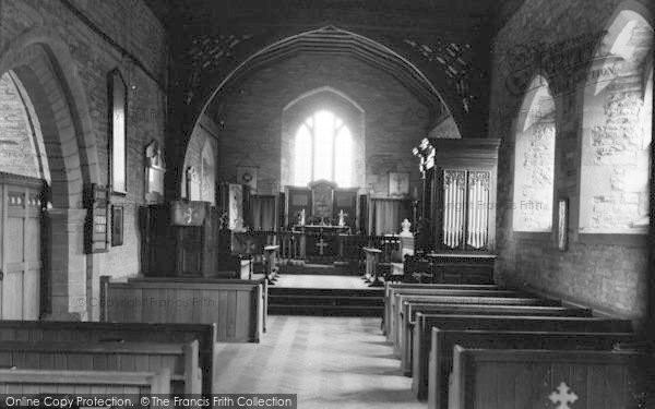 Photo of Winforton, The Church Interior c.1955