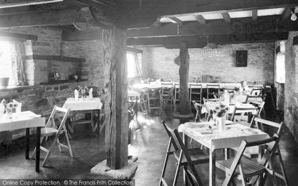 Photo of Winforton, The Old Cross Restaurant, Dining Room c.1955