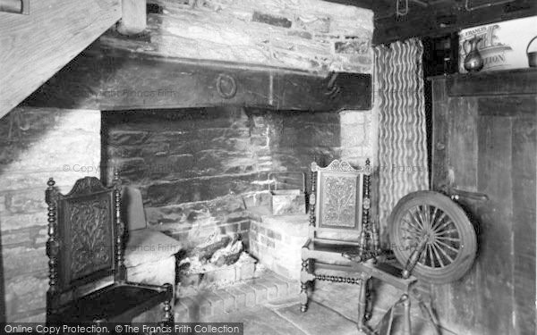 Photo of Winforton, The Old Cross Restaurant, Original Fireplace c.1955