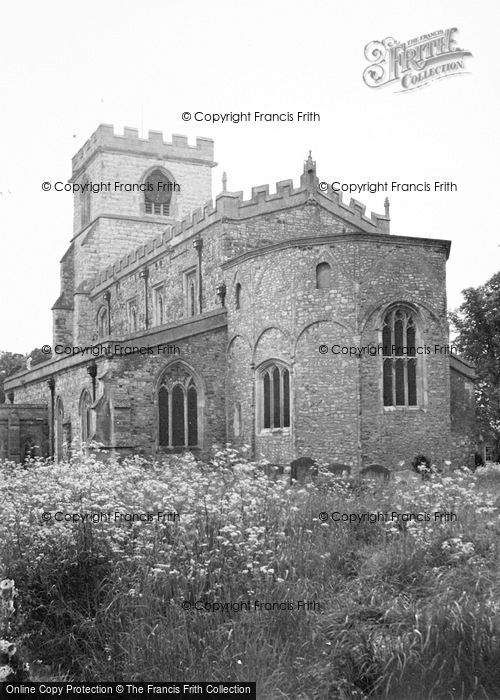 Photo of Wing, All Saints Church 1951