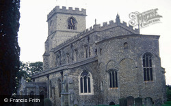 All Saints Church c.1985, Wing