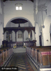 All Saints Church, Nave c.1985, Wing