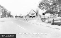 Wingate, Wellfield Road And Fir Tree Inn c.1960