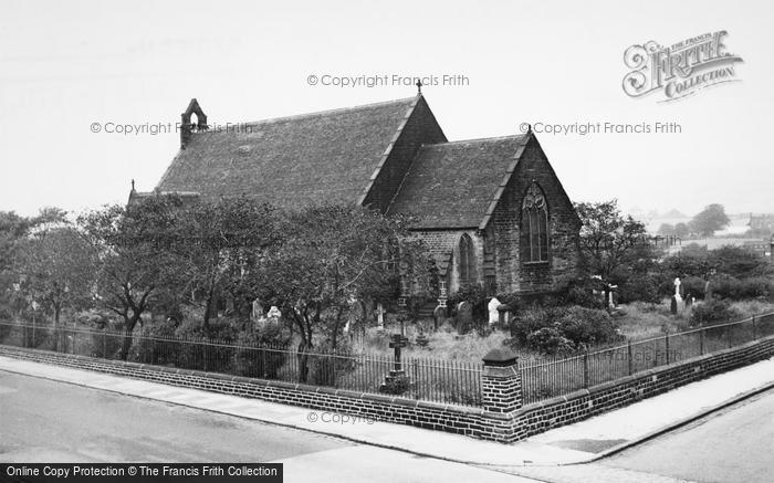 Photo of Wingates, Church Of St John The Evangelist c.1955