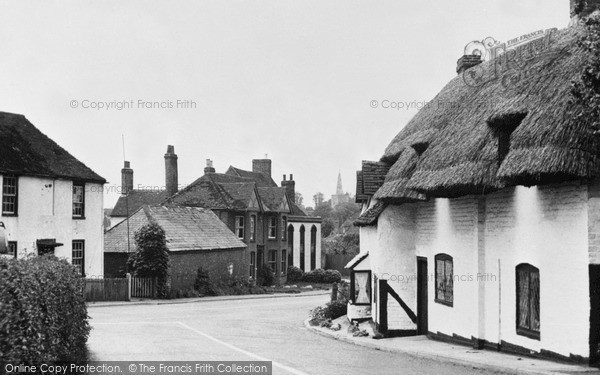 Photo of Wingham, A Corner Of The Village c.1955