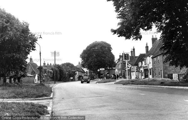 Photo of Wingham, High Street c.1955