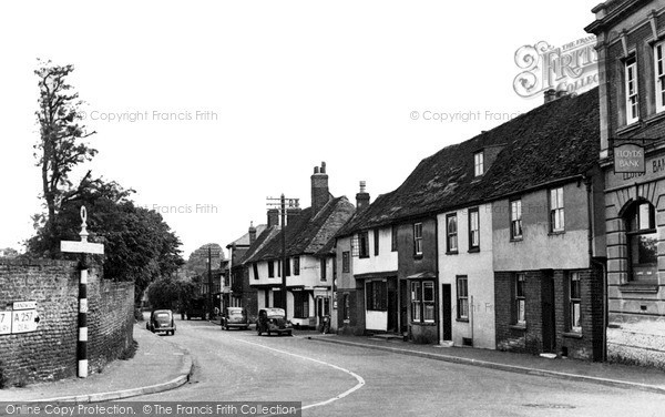 Photo of Wingham, High Street, South c.1955