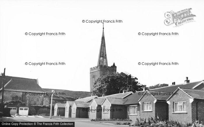 Photo of Wingham, Parish Church c.1960