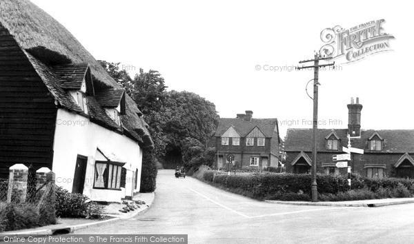 Photo of Wingham, Preston  Hill c.1955