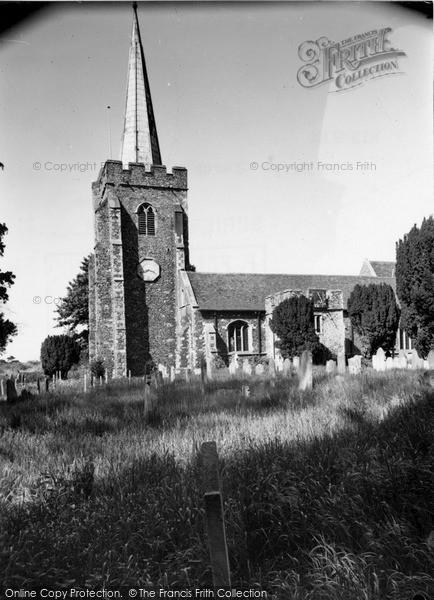 Photo of Wingham, St Mary's Church c.1955
