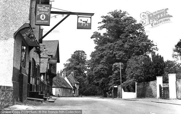 Photo of Wingham, The Dog Inn c.1955