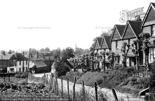 Photo of Wingham, The Village c.1955