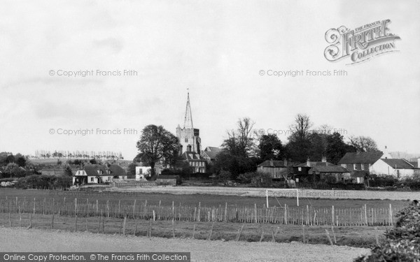 Photo of Wingham, View From Canterbury Road c.1960