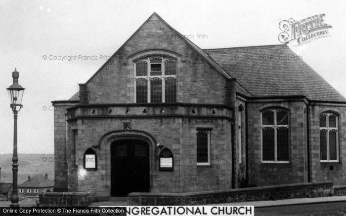 Photo of Winlaton, Congregational Church c.1955