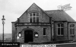 Winlaton, Congregational Church c.1955