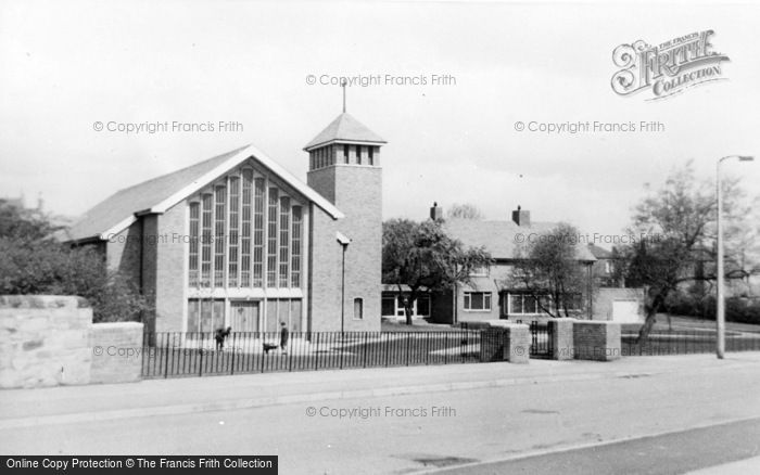 Photo of Winlaton, St Anne's Church c.1955