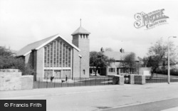 Winlaton, St Anne's Church c.1955