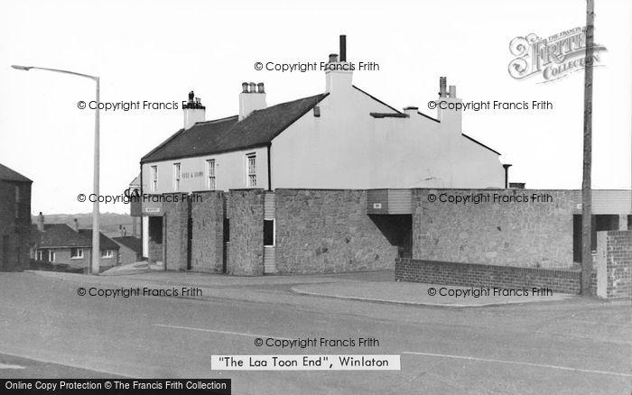 Photo of Winlaton, The Loa Toon End c.1955
