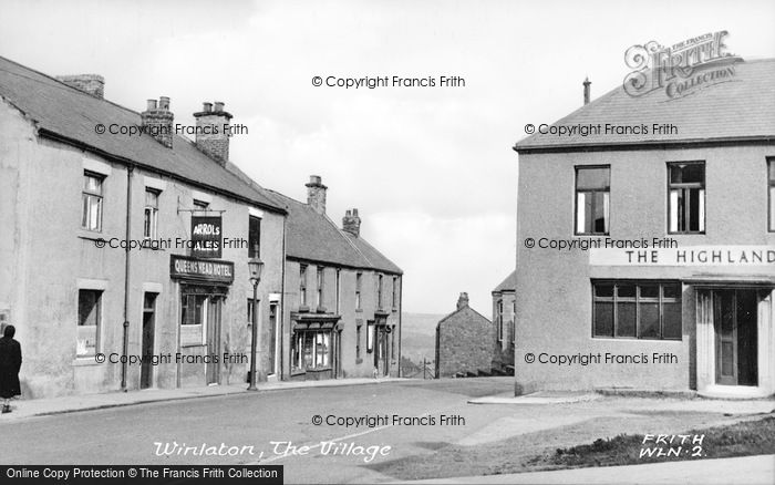 Photo of Winlaton, The Village c.1955