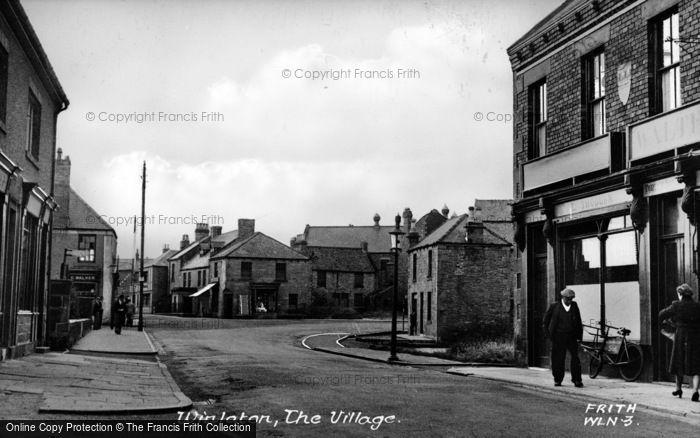 Photo of Winlaton, The Village c.1955