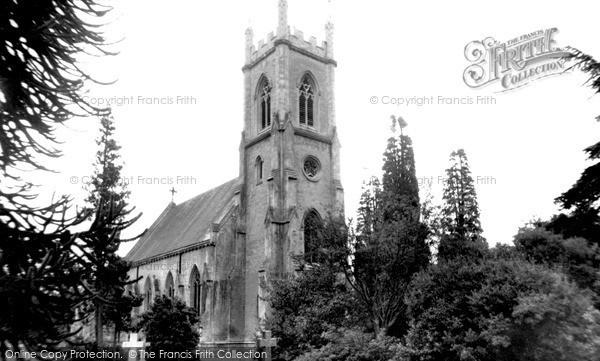 Photo of Winnersh, Bearwood Church c.1955