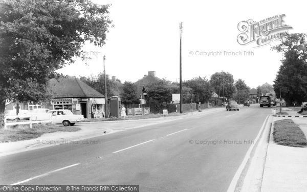 Photo of Winnersh, Cross Roads c.1965