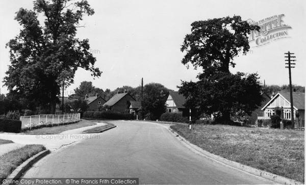 Photo of Winnersh, King Street Lane c.1960