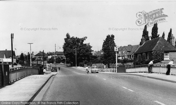 Photo of Winnersh, Loddon Bridge c.1960