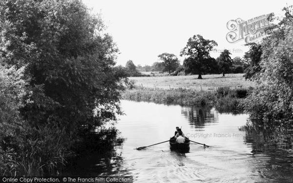 Photo of Winnersh, River Loddon c.1960