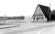 Winnersh, the Church of St Mary the Virgin c1965