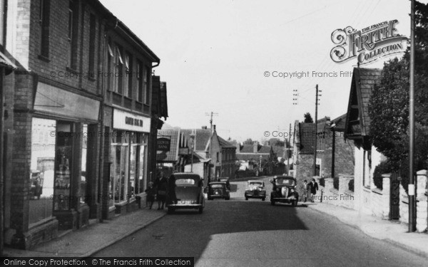 Photo of Winscombe, Woodborough Road c.1955