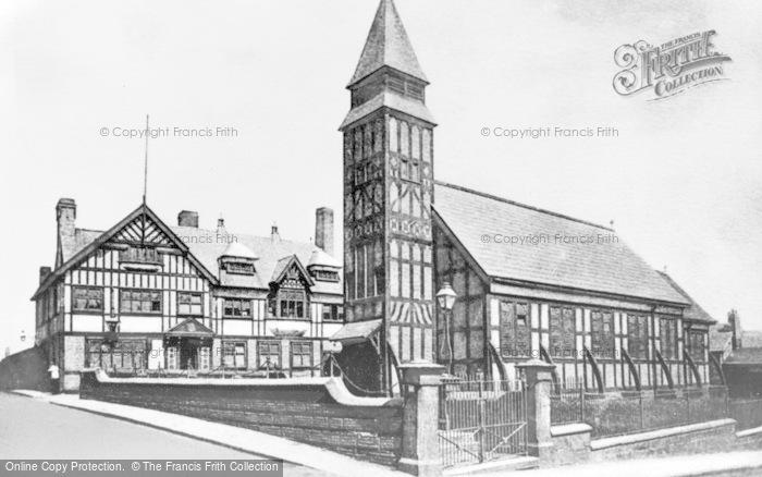 Photo of Winsford, Christ Church c.1900