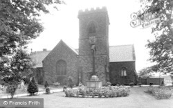 Winsford, Christ Church, Wharton c.1955