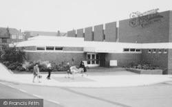 Winsford, Civic Hall c.1965