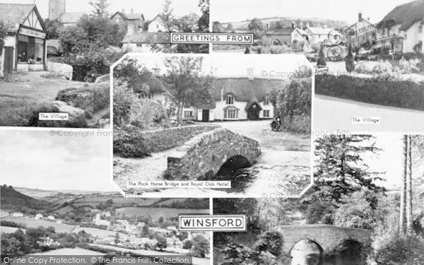 Photo of Winsford, Composite c.1960