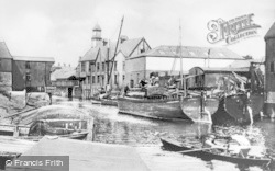 Winsford, Dock Yard c.1908
