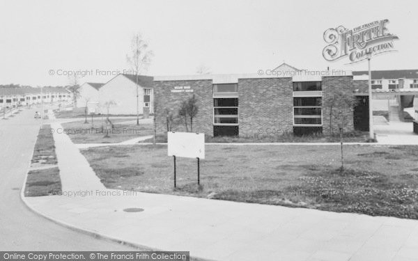 Photo of Winsford, Esk Road, Willow Wood Community Centre c.1965