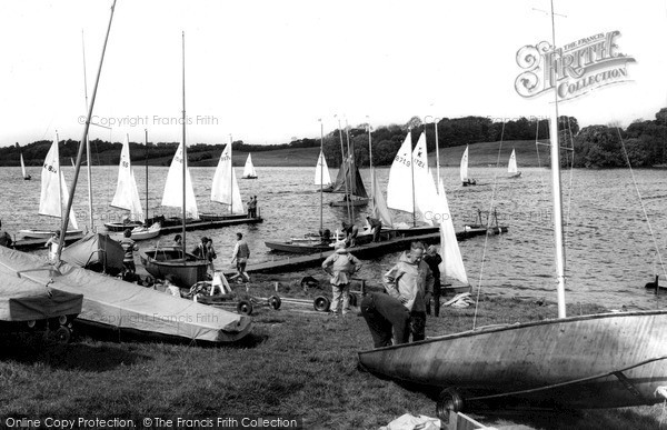 Photo of Winsford, Flashes, Yachting c.1960