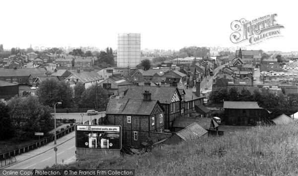 Winsford, General View c1960