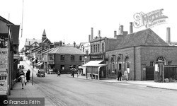 Winsford, High Street And General Post Office c.1955
