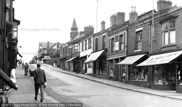 Photo of Winsford, High Street c.1955
