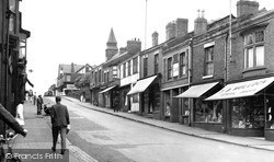 Winsford, High Street c.1955