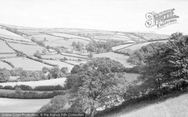 Photo of Winsford, Howtown And Surrounding Country c.1955
