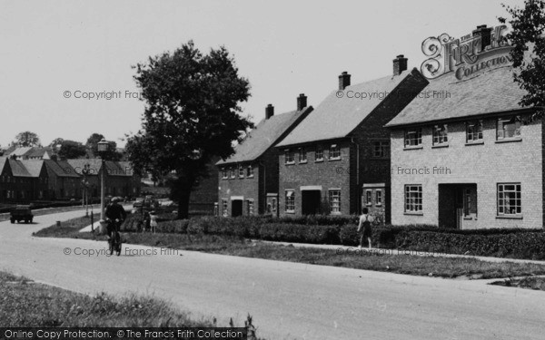 Photo of Winsford, Queensway c.1955
