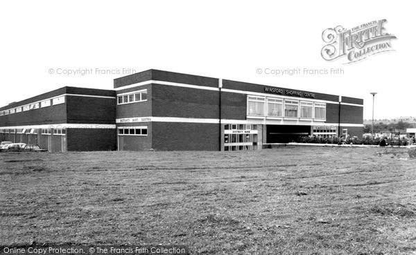 Winsford, Shopping Centre c1965